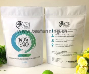 Private Label Detox Teatox Customized all kinds of natural detox tea