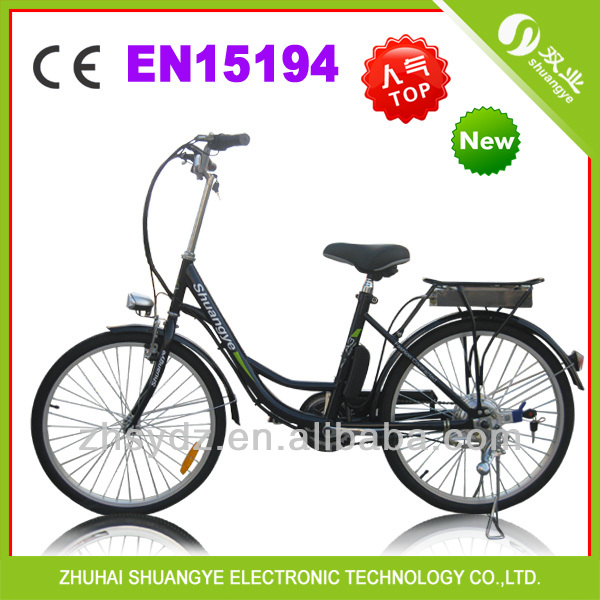 "1:1 pedal assistance system 36v 24""budget electric bicycle A3"