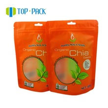 Chia seed packaging bag