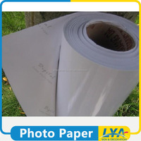 new design new arrival glossy adhesive back photo paper
