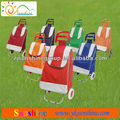 High quality folding shopping cart with fabric bag