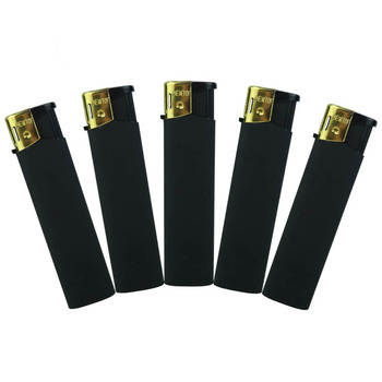 Best selling portable crystal custom plastic electric cigarette lighter