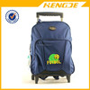 best selling waterproof kids school trolley backpack bag