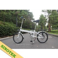 SINOTEK new product 260W ultra light electric bicycle folding