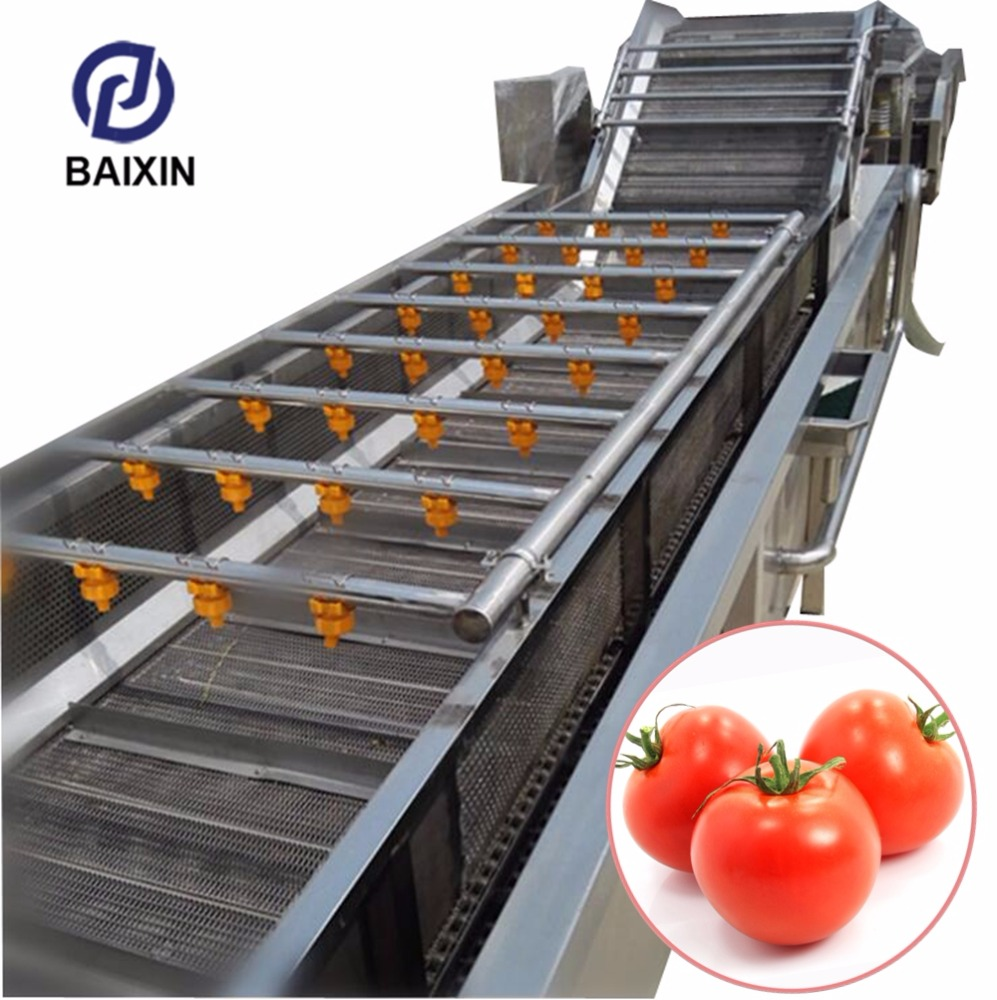 Potato Washing Machine/Tomato Sorting Washing Machine/Vegetable And Fruit Cleaning Machine