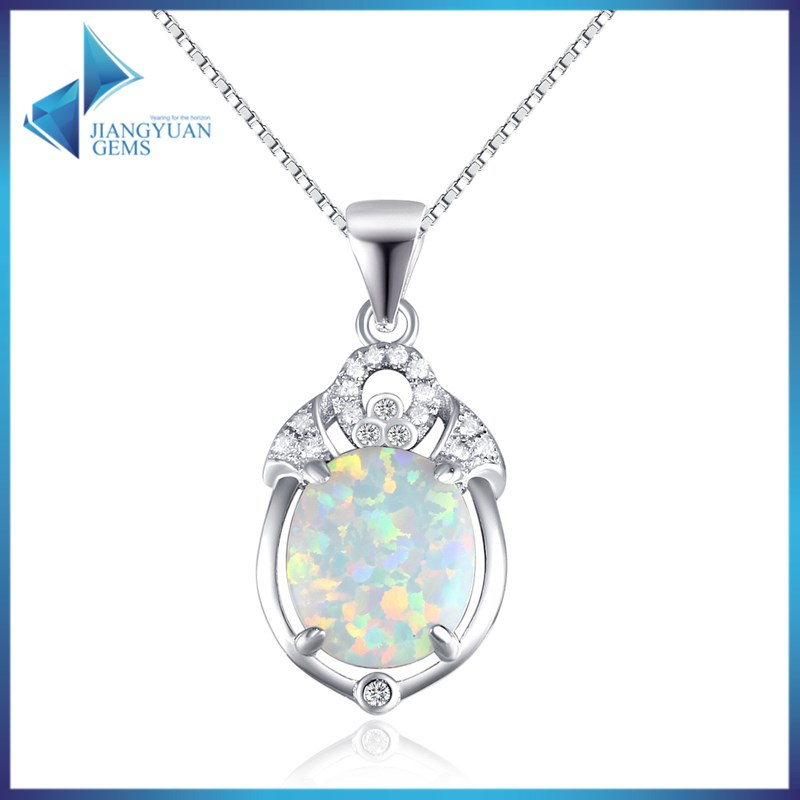 YGD <strong>C118</strong> China lab created opal jewelry necklace