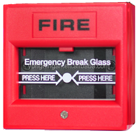 Own Patent Design Conventional UL Listed Conventional Fire Alarm Emergency Manual Call Point