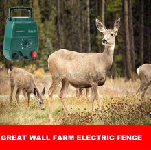 2014 Ideal for large sized areas farm electric fence charger energizer powers up to 40km of fence