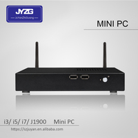 high performance Manufacturer price Customizable MINI PC Intel core (I3/I5/I7 3nd gen to 7th gen) 300M WIFI