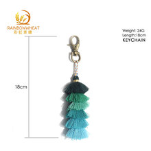 High-Quality metal custom tassel keychain for promotion