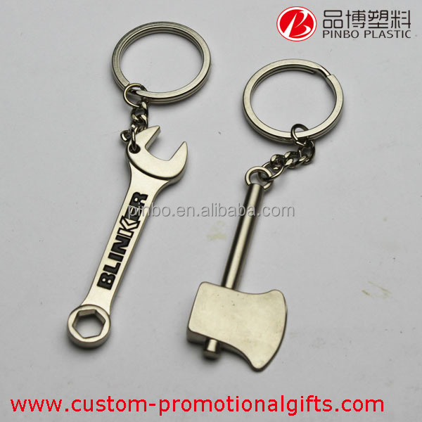 custom keychain,cheap custom fashion keychain metal key chain,metal wrench keychain