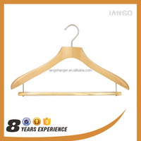 Y1515 Fashionable high quatity antique wooden custom suit hangers