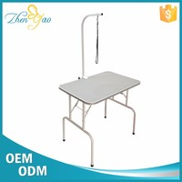Folding Iron Legs Skid Proof Grooming Table For Pet