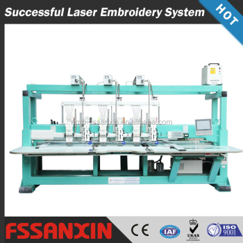 laser cutting embroidery machine for fasion design
