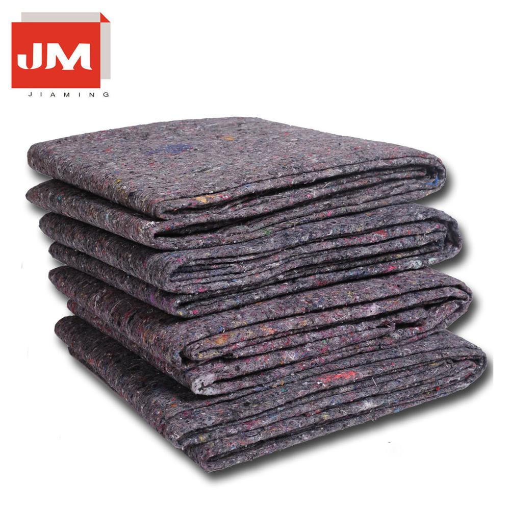 eco-friendlystocklot Furniture Moving blanket protective felt made of nonwoven fabric