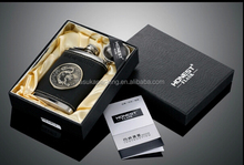 Custom Hip flask gift set package box Luxury hip flask paper box