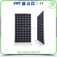 China factory price latest solar panel amorphous 100w