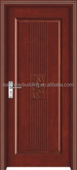 engineer veneer wood door with strong frame structure