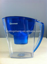 2014 Hot Selling Popular Ningbo Cixi Manufacturer Brita Water Filter/Water Filter Pitcher