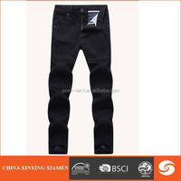 custom men cotton jeans manufacture in China