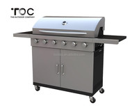 High quality stainless steel gas grill barbacoa