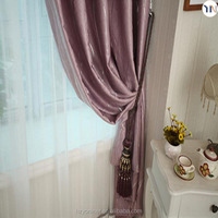 luxury foiling curtain for high-end interior decoration, ready made curtain fashion luxury drapes curtains newly design 2015