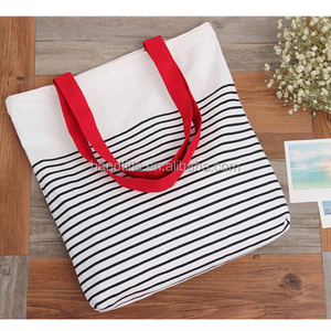 Wholesale New Style Printed Cotton Linen Shoulder shopping Bag /Custom Cotton Canvas Tote Bag