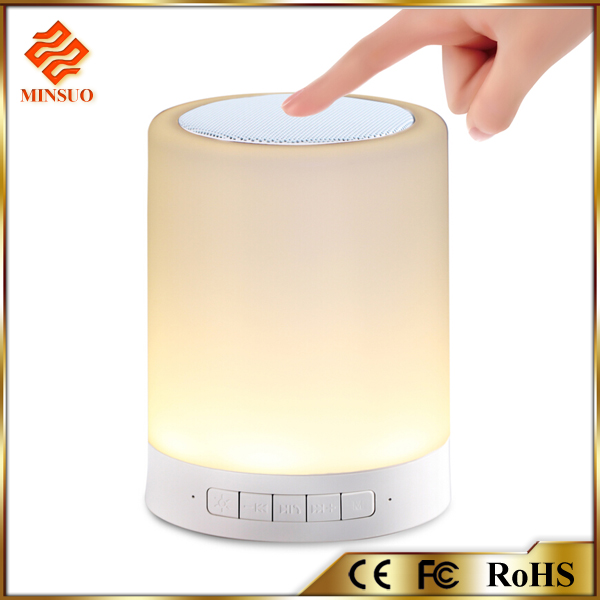 Shenzhen Bluetooth speakers with led mood light