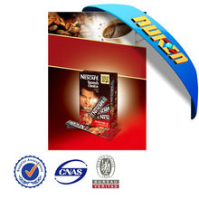3d promotional lenticular poster for Nestle coffee