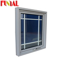 Australia standard aluminum awning window frame parts with cleasr LOW-E glass