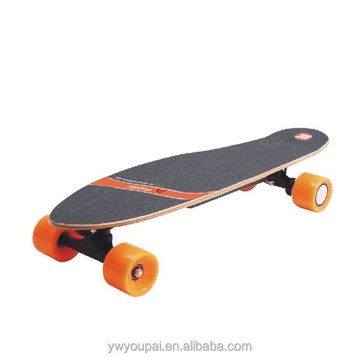 YouPai new design 200W Wheel motor charge Wireless bluetooth remote control electric skateboard