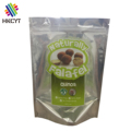 Custom printed potato chip bag aluminum foil food grade plastic bag hemp seed packaging