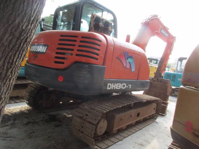 Doosan DH80 Mini Excavator 8 Tons Used Small Crawler Excavator For Sale