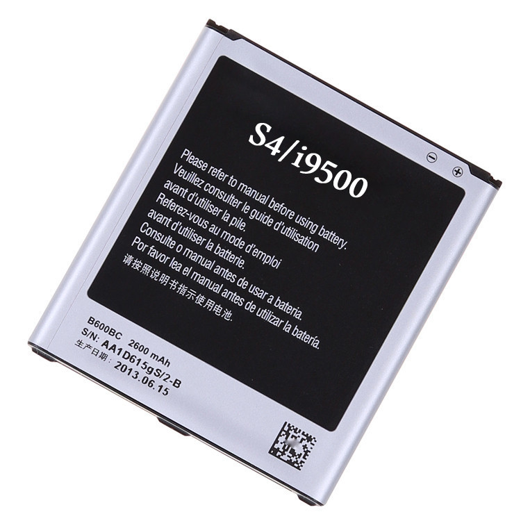 China manufacturer long lasting high capacity battery for Galaxy S4 Mobile Phone Battery B600BC for Samsung i9500 i9508 i959