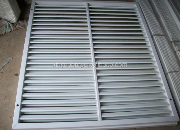 Top China industrial aluminum window/door louver prices extruded