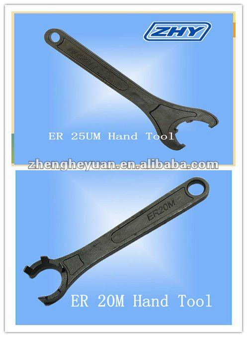 ZHY High Precision M And UM Type ER Wrench Hand Tool