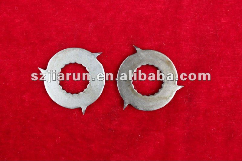 Stainless steel dies for rubber cutting