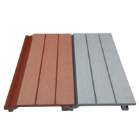 Water-proof WPC wall panel Wood plastic siding Composite wood cladding TF-04K