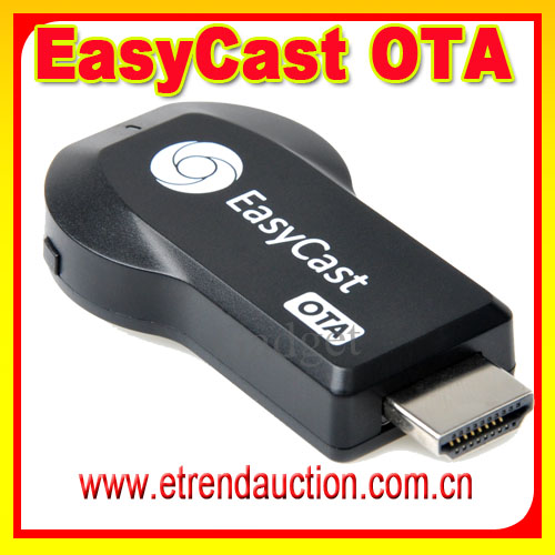 Android wifi dongle tv box hd miracast dongle easycast kodi tv stick with remote