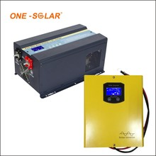 7 kw on and off grid inverter with MPPT solar charge controller for europe