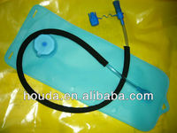 2L ecofriendly water bag with TPU film with drinking tumb