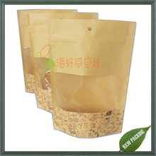 ecofriendly food packaging paper bags with window