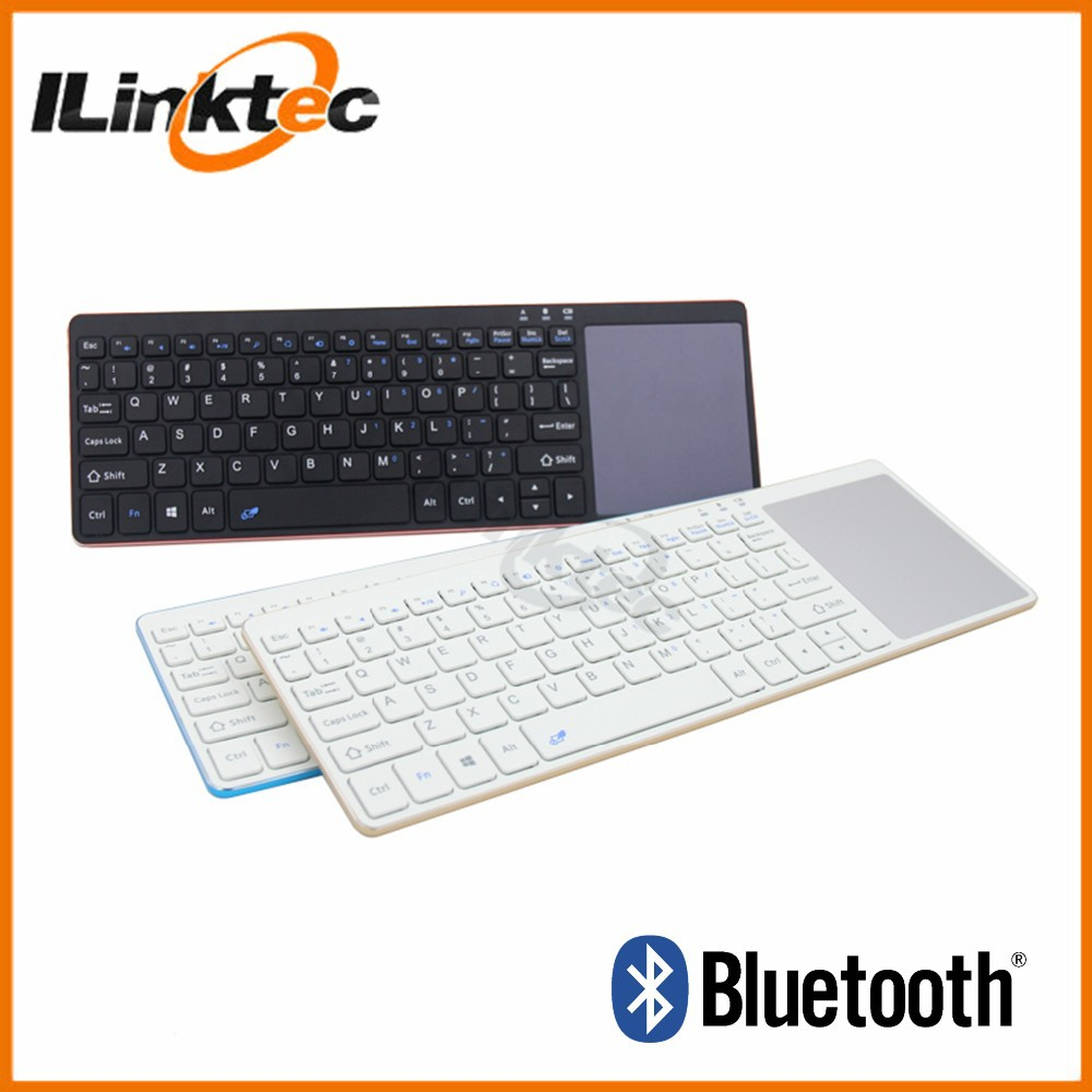 Newest Aluminum Wireless Bluetooth Keyboard for Samsung Laptop Smart Phone TV
