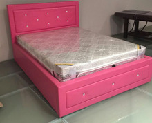 pu pink bed quality