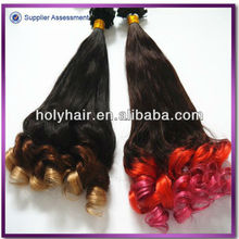 Alibaba hot selling best quality multi-colored hair extensions