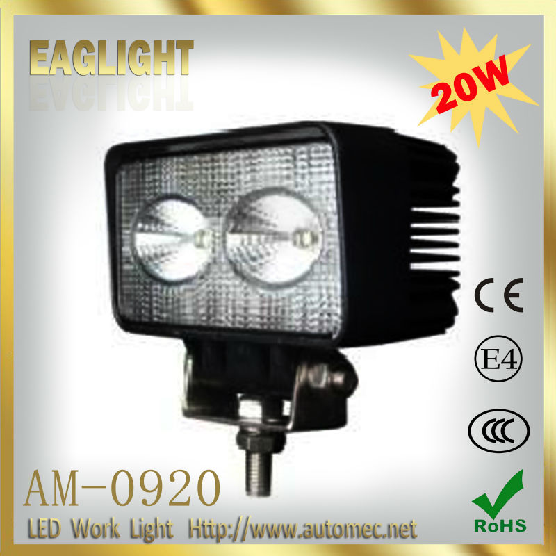 20W 4.3 inch EMC Function Automotive CREE LED Work Light