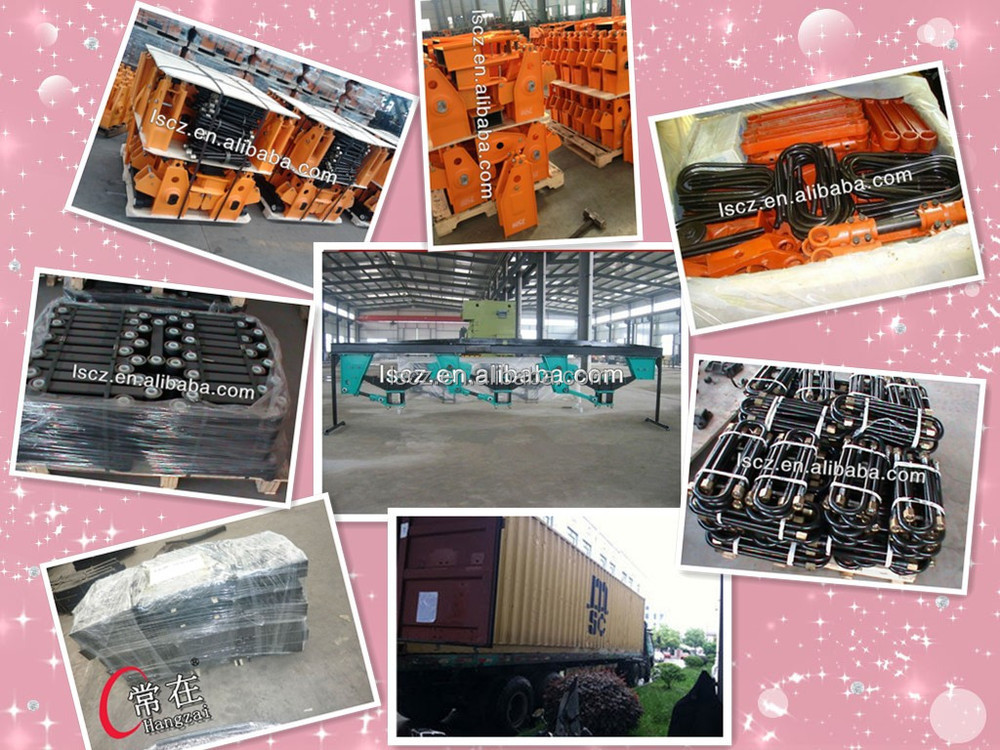 Suspension Trailer Truck Part/ Casting Trailer Suspension System