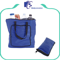 Extra large aluminum foil tote foldable cooler bag