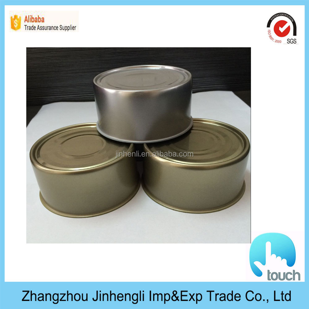 Color printing metal tin food cans Bpa free cans