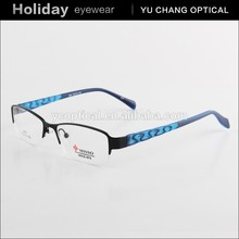 2015 hotsell women men famous eyeglass frames for small faces with spring hinge
